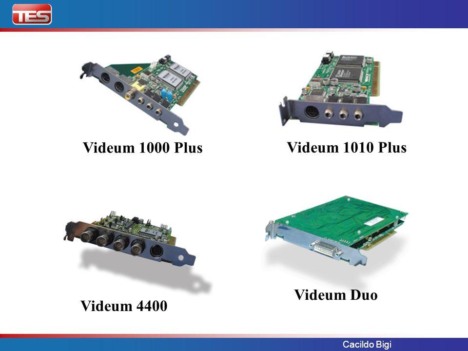 Videum 1000 Plus Videum 1010 Plus Videum Duo Videum 4400 Cacildo Bigi