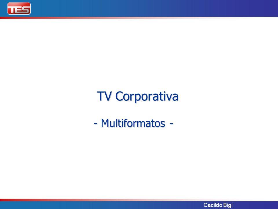 TV Corporativa - Multiformatos -