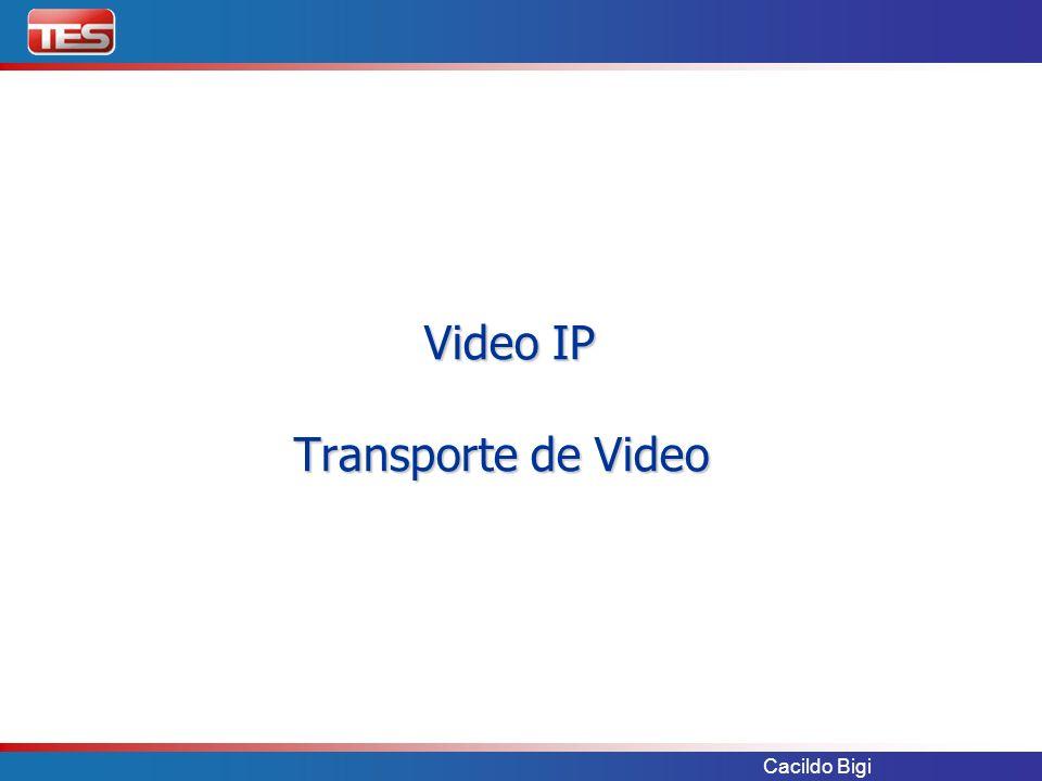 Video IP Transporte de Video