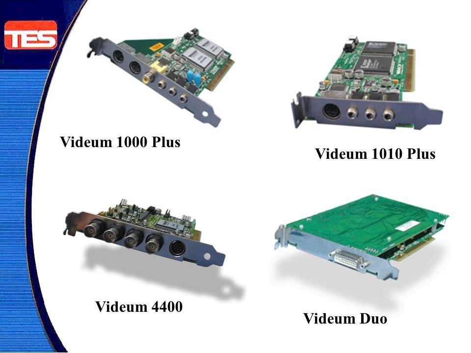 Videum 1000 Plus Videum 1010 Plus Videum 4400 Videum Duo