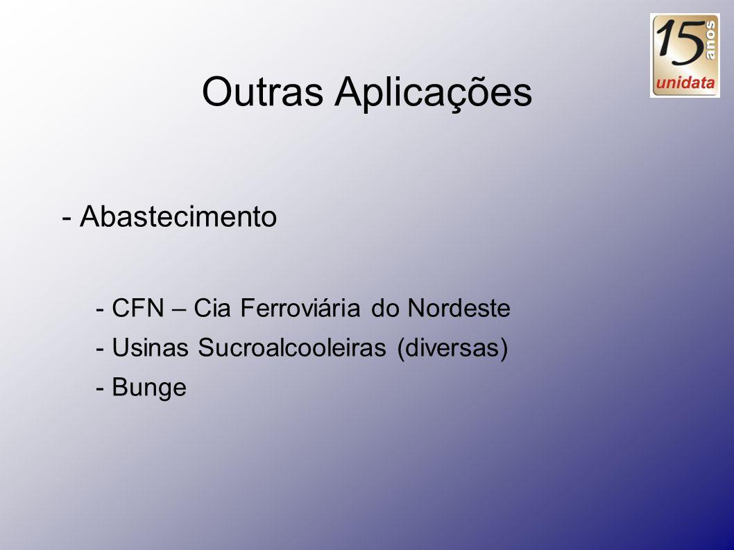 Outras Aplicações - Abastecimento - CFN – Cia Ferroviária do Nordeste
