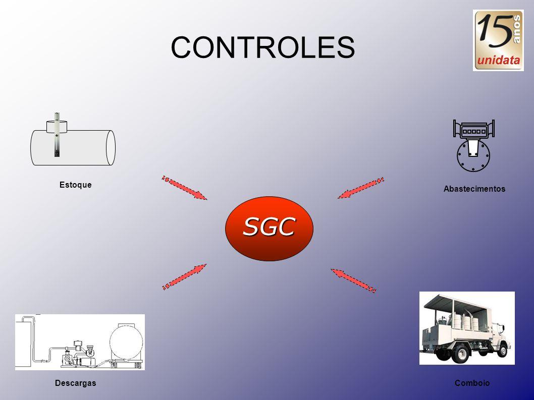 CONTROLES Estoque Abastecimentos SGC Descargas Comboio