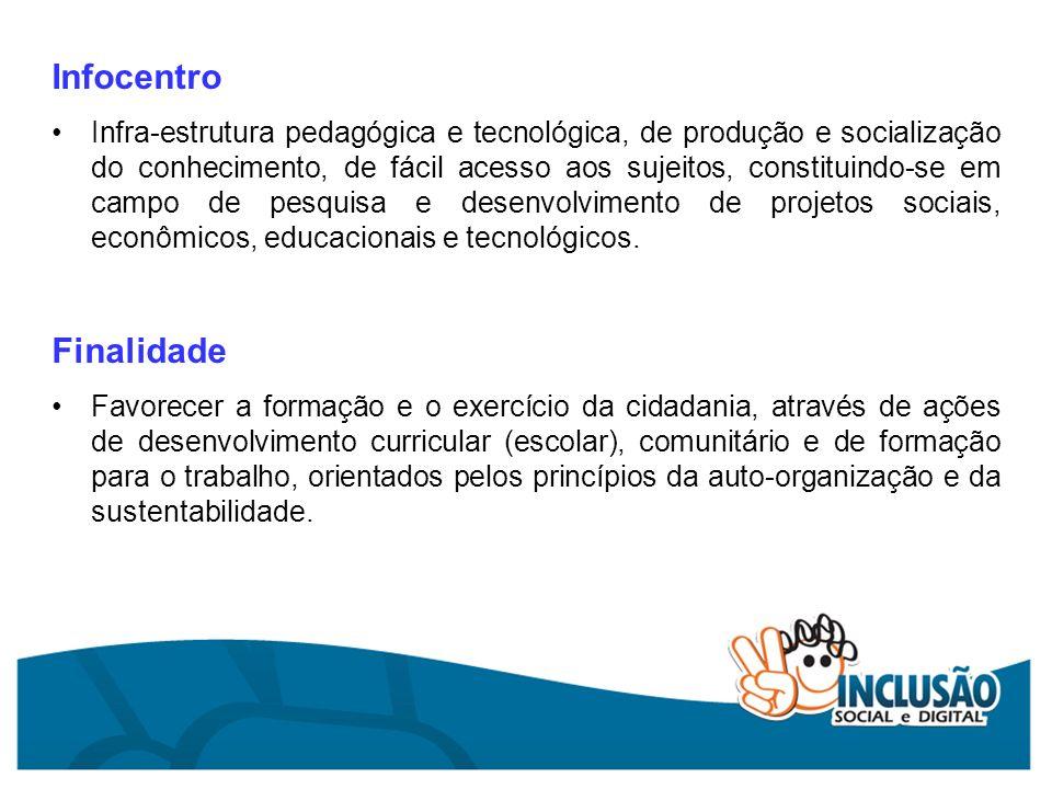 Infocentro Finalidade