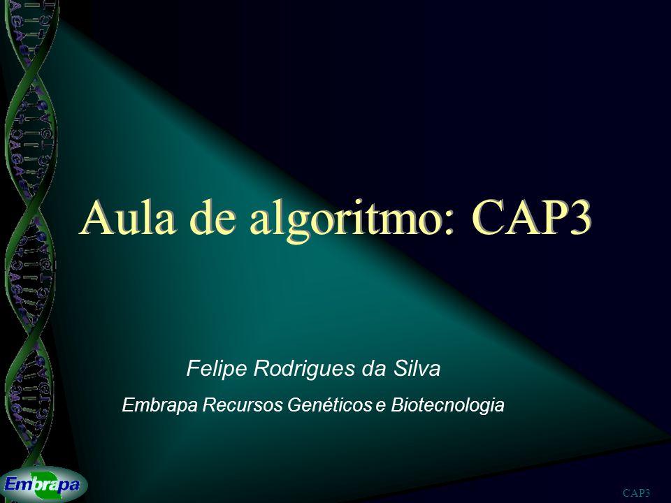 Felipe Rodrigues da Silva Embrapa Recursos Genéticos e Biotecnologia