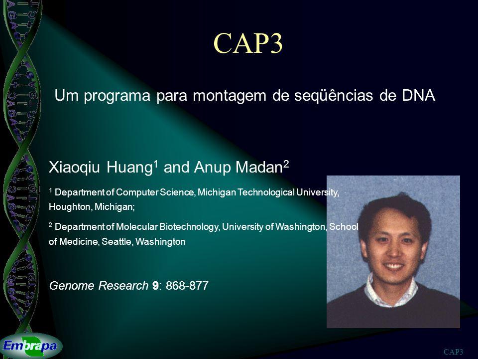 Um programa para montagem de seqüências de DNA