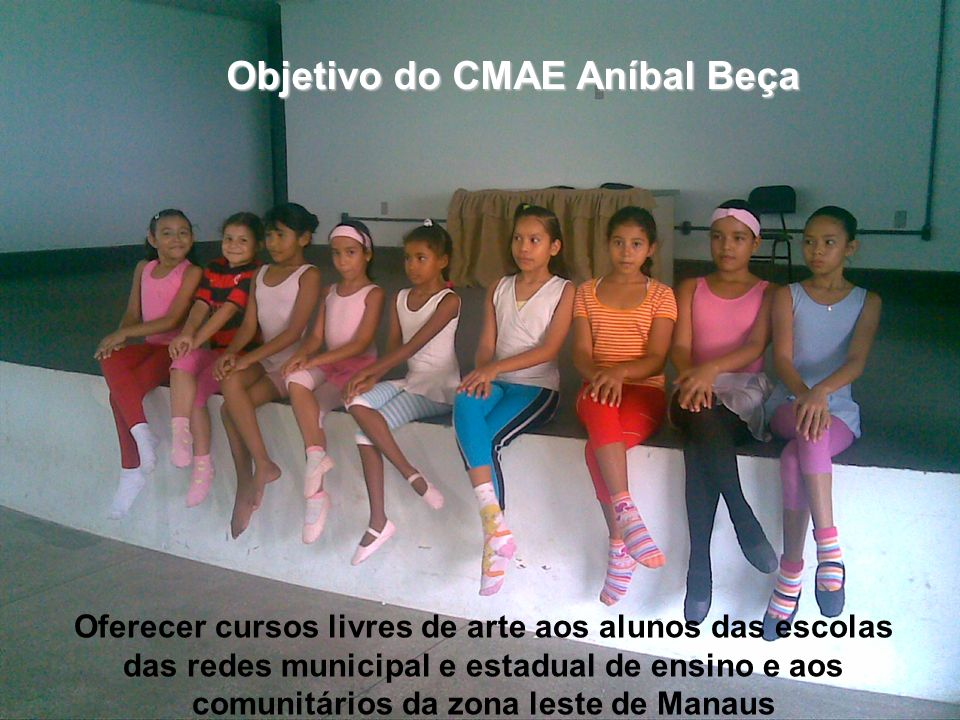 Objetivo do CMAE Aníbal Beça