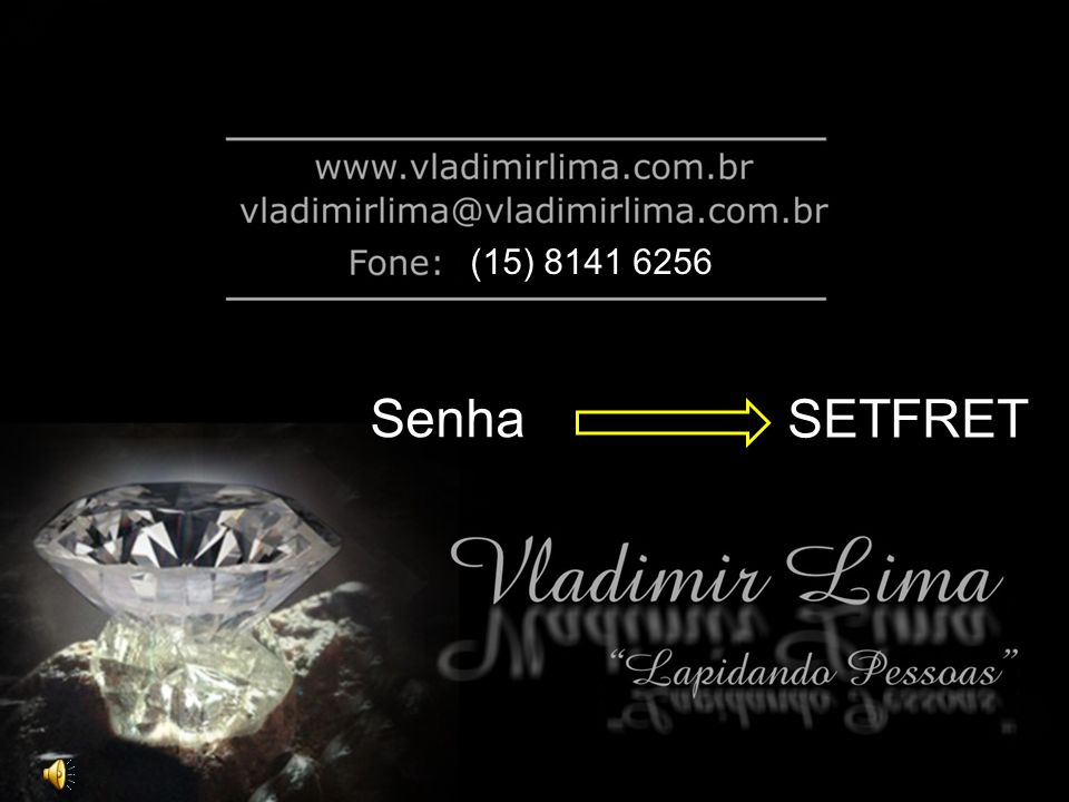 (15) 8141 6256 Senha SETFRET