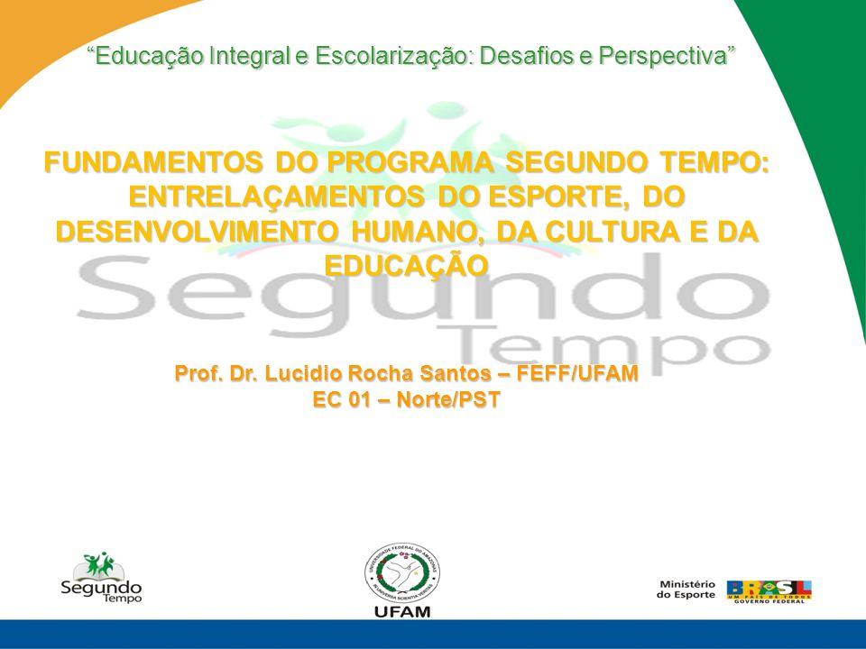 Prof. Dr. Lucidio Rocha Santos – FEFF/UFAM