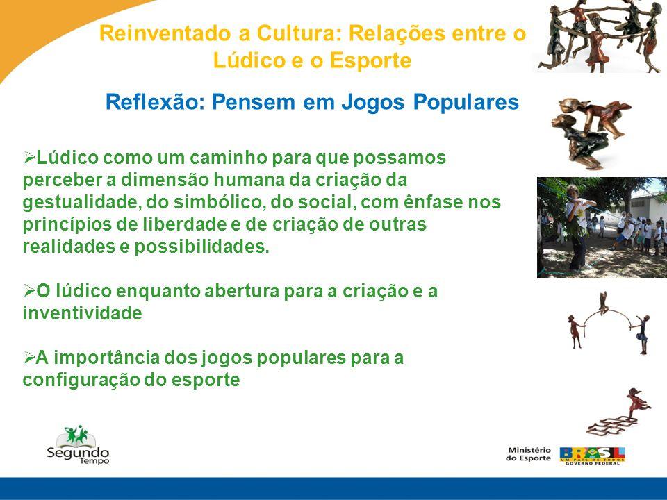 Reinventado a Cultura: Relações entre o Lúdico e o Esporte