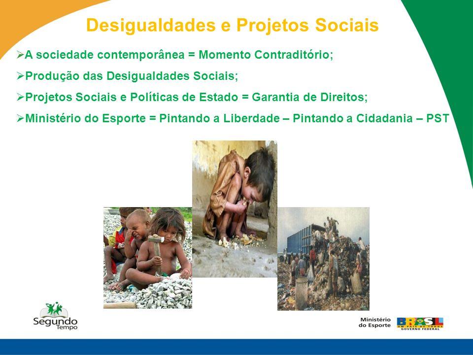 Desigualdades e Projetos Sociais