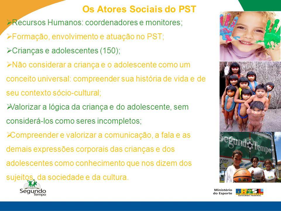 Os Atores Sociais do PST