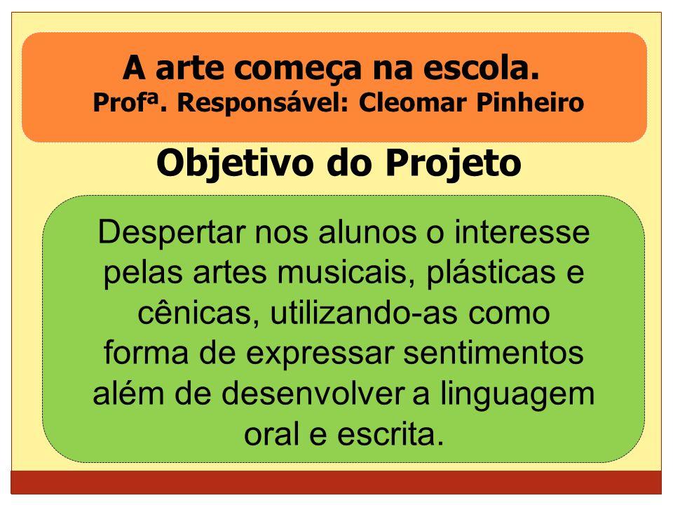 Profª. Responsável: Cleomar Pinheiro