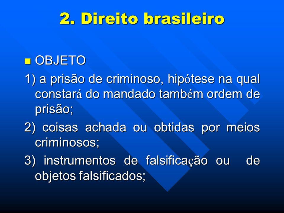2. Direito brasileiro OBJETO