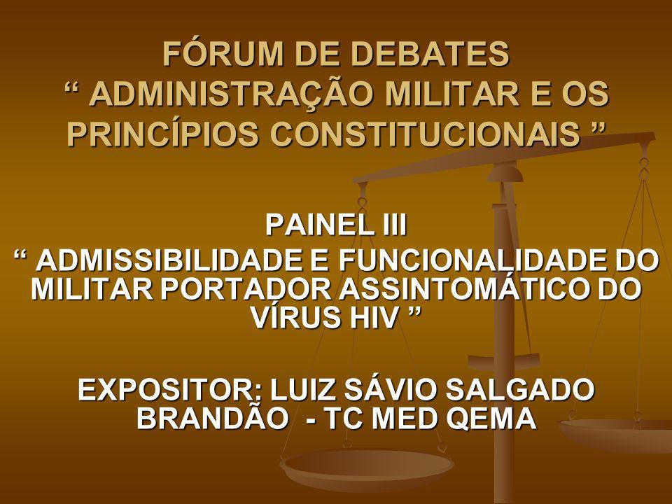 EXPOSITOR: LUIZ SÁVIO SALGADO BRANDÃO - TC MED QEMA