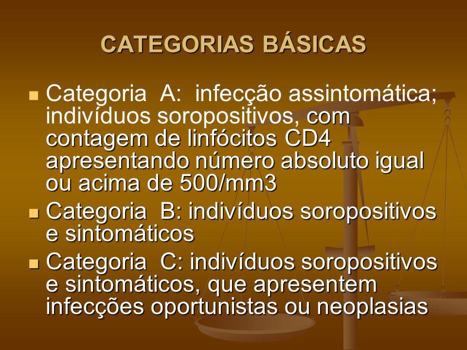 CATEGORIAS BÁSICAS