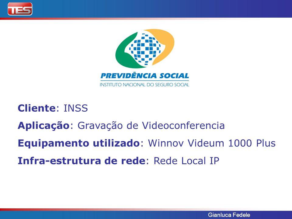 Aplicação: Gravação de Videoconferencia