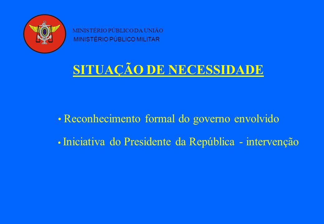 MINISTÉRIO PÚBLICO DA UNIÃO