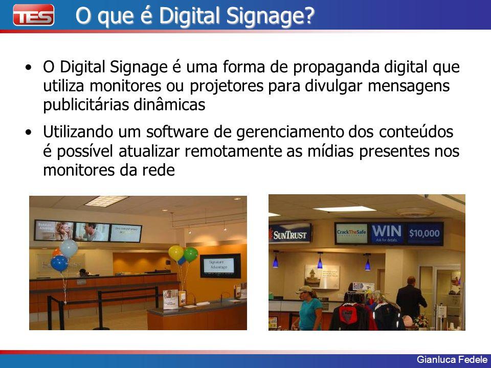 O que é Digital Signage