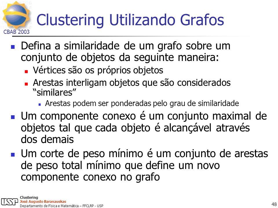 Clustering Utilizando Grafos