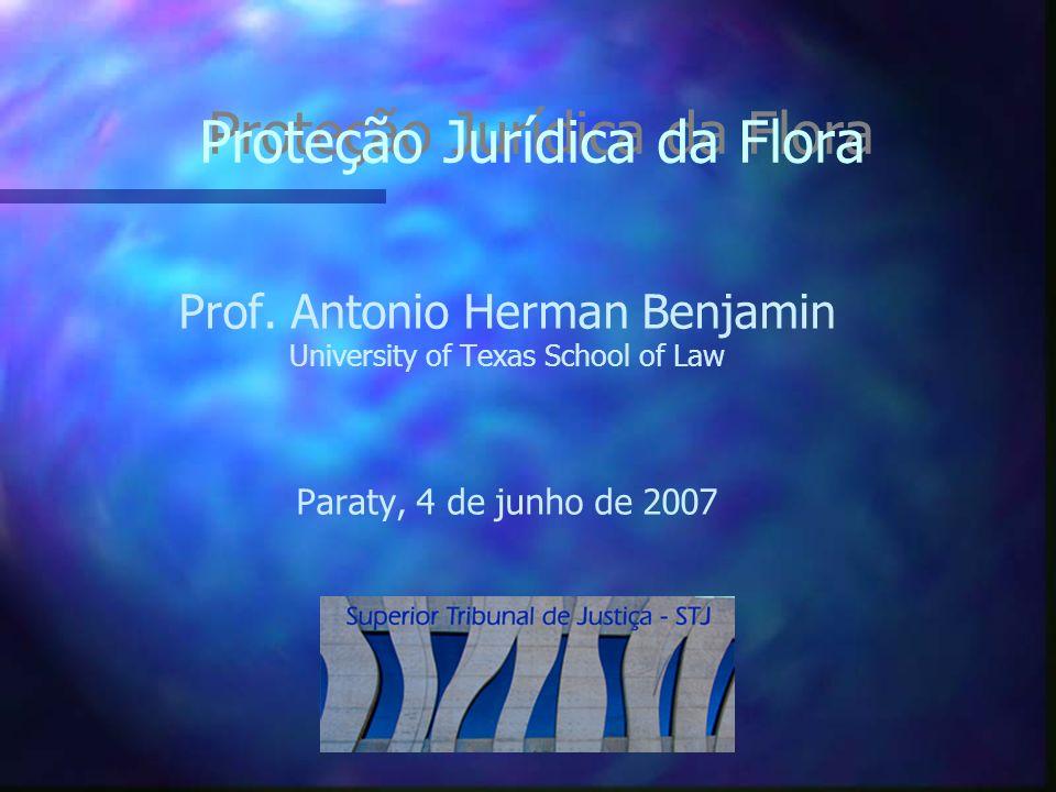 Proteção Jurídica da Flora