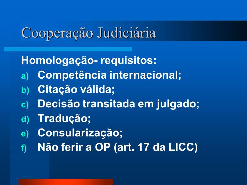 Cooperação Judiciária