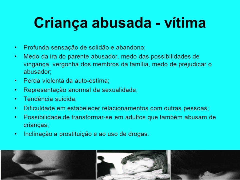 Criança abusada - vítima