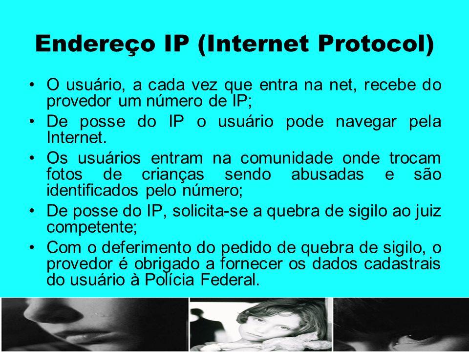 Endereço IP (Internet Protocol)