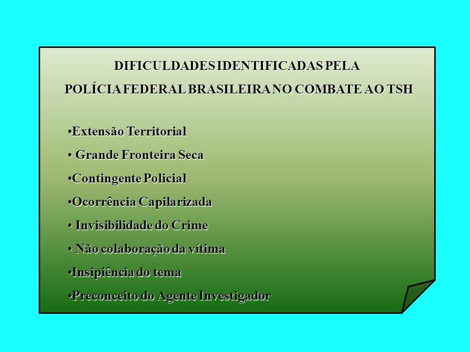 DIFICULDADES IDENTIFICADAS PELA