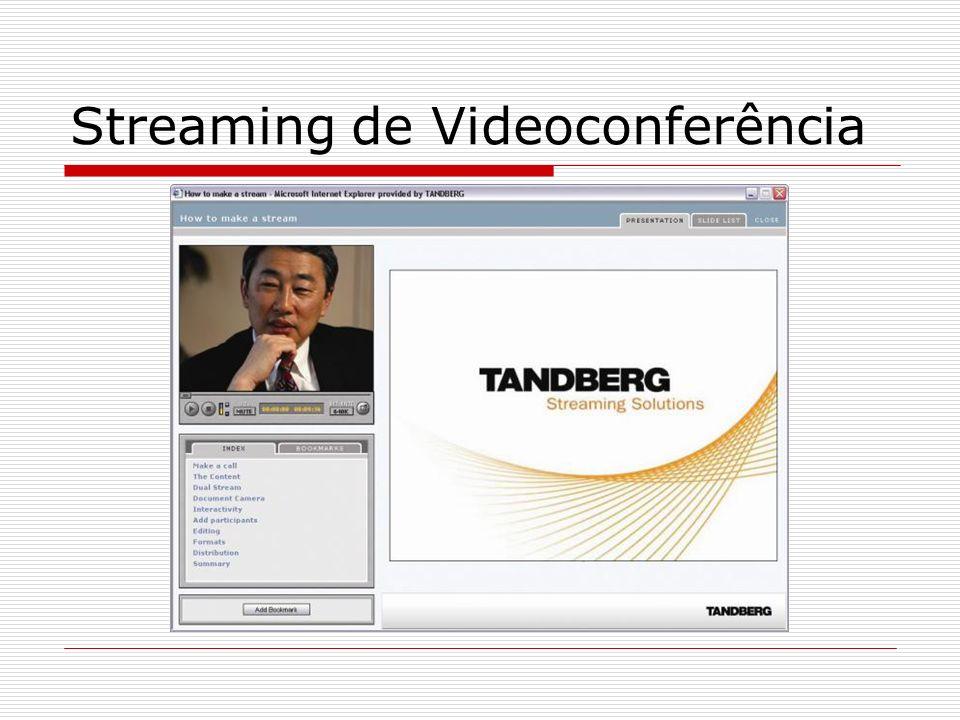 Streaming de Videoconferência