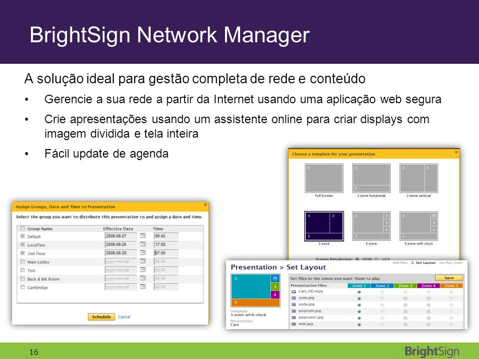 BrightSign Network Manager
