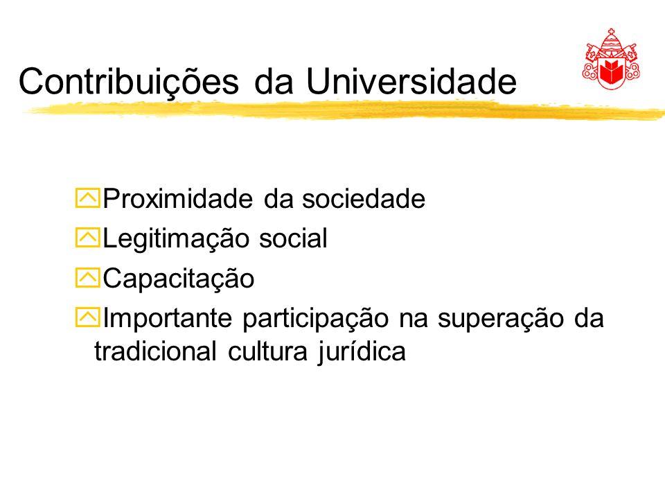 Contribuições da Universidade