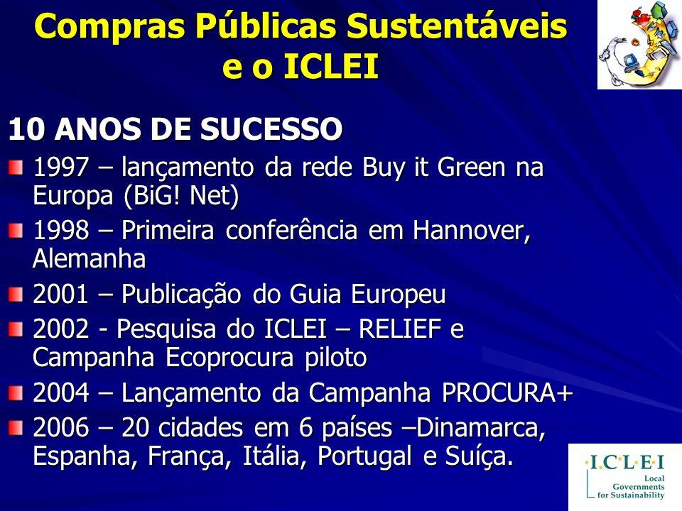 Compras Públicas Sustentáveis e o ICLEI