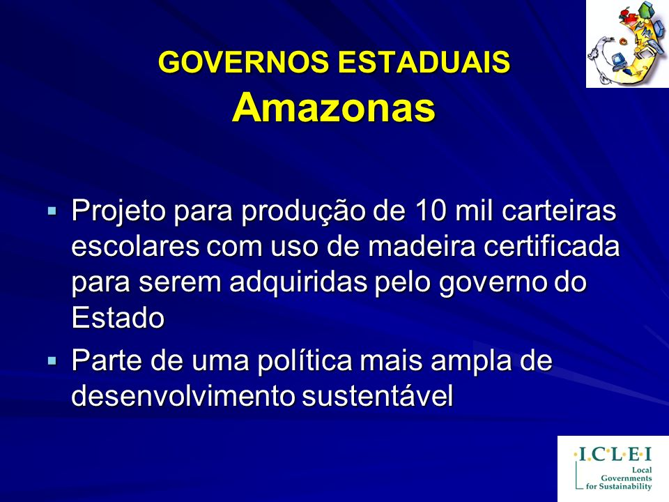 GOVERNOS ESTADUAIS Amazonas
