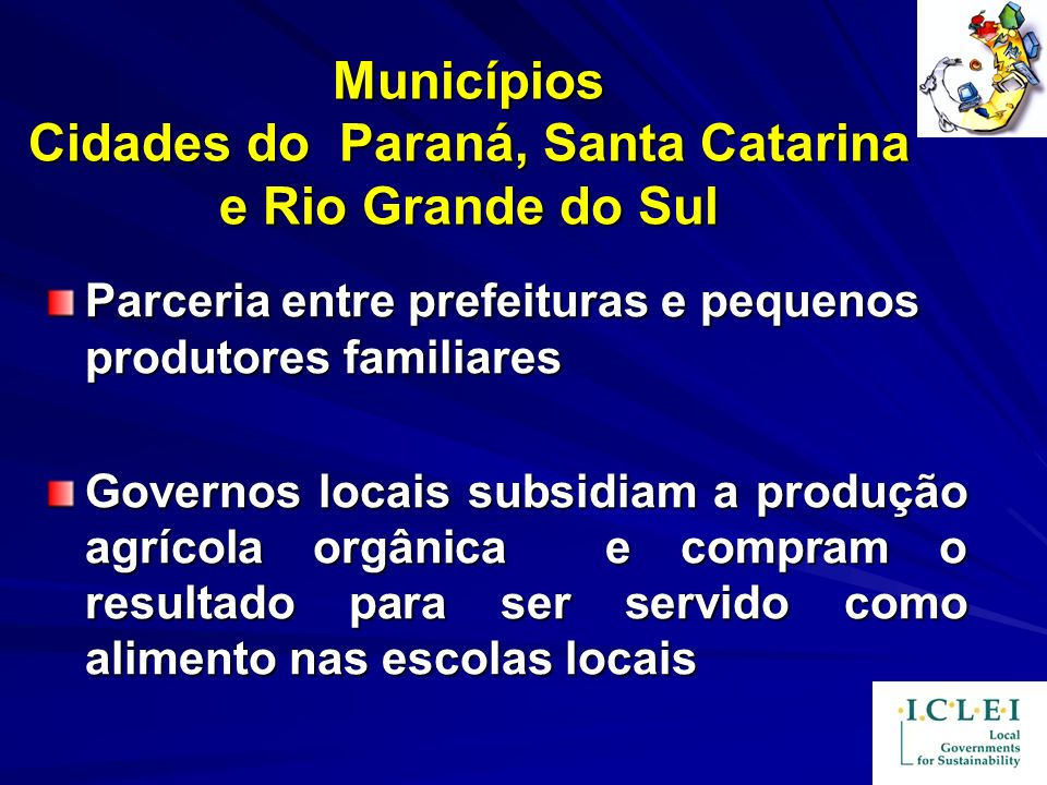 Municípios Cidades do Paraná, Santa Catarina e Rio Grande do Sul