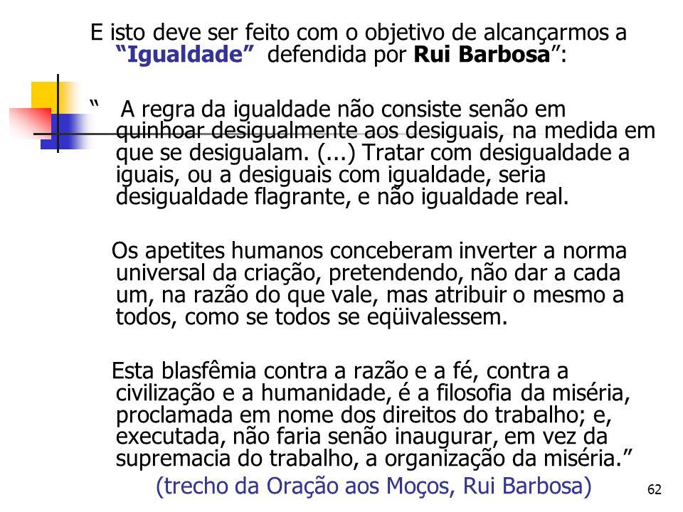 (trecho da Oração aos Moços, Rui Barbosa)