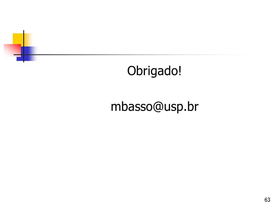Obrigado! mbasso@usp.br