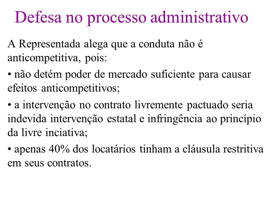 Defesa no processo administrativo