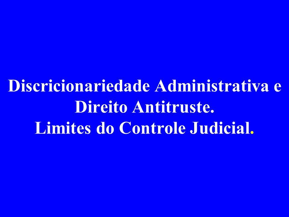 Discricionariedade Administrativa e Direito Antitruste