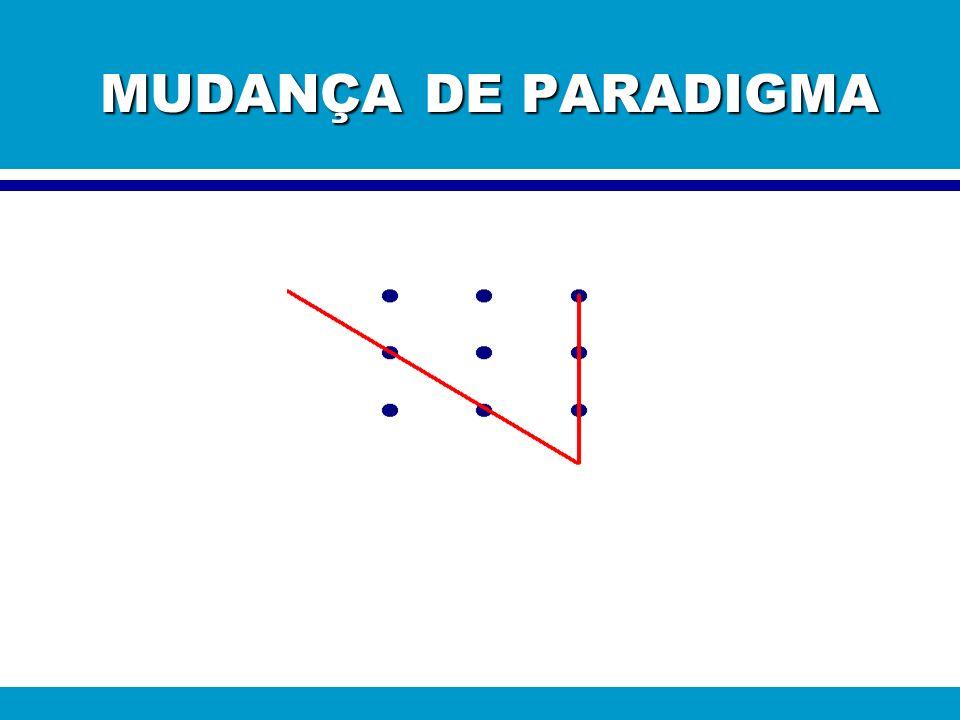 MUDANÇA DE PARADIGMA