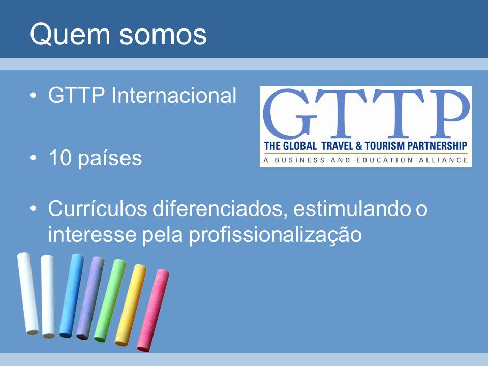 Quem somos GTTP Internacional 10 países