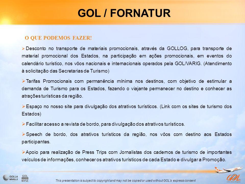 GOL / FORNATUR O QUE PODEMOS FAZER!