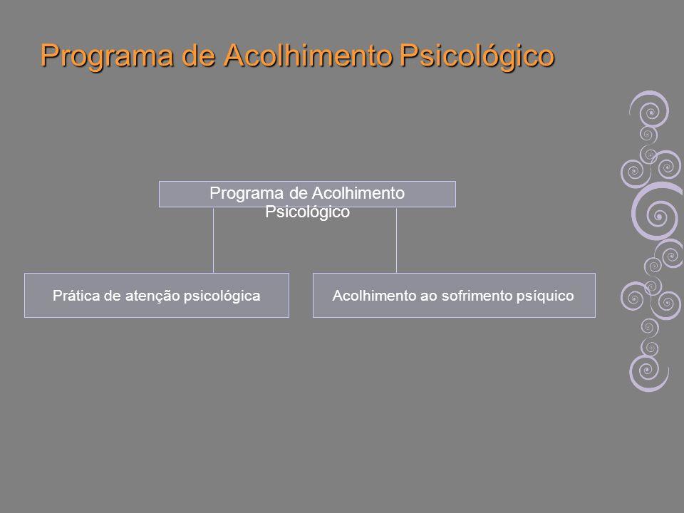 Programa de Acolhimento Psicológico