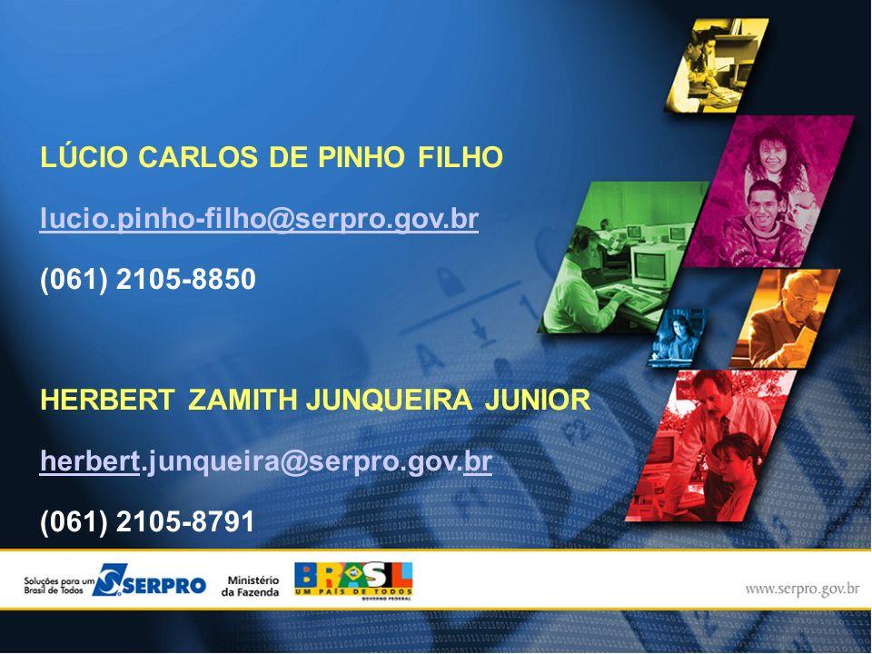 LÚCIO CARLOS DE PINHO FILHO