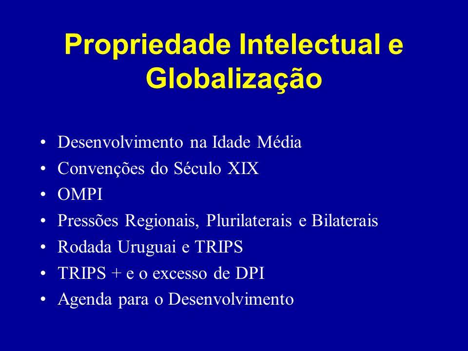 Propriedade Intelectual e Globalização