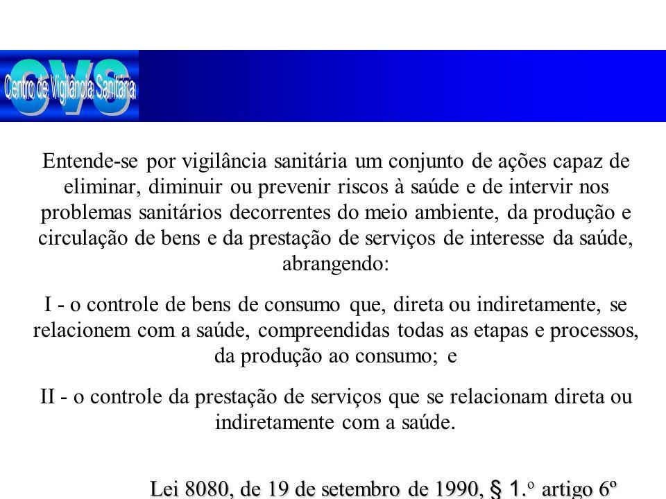 Lei 8080, de 19 de setembro de 1990, § 1.o artigo 6º