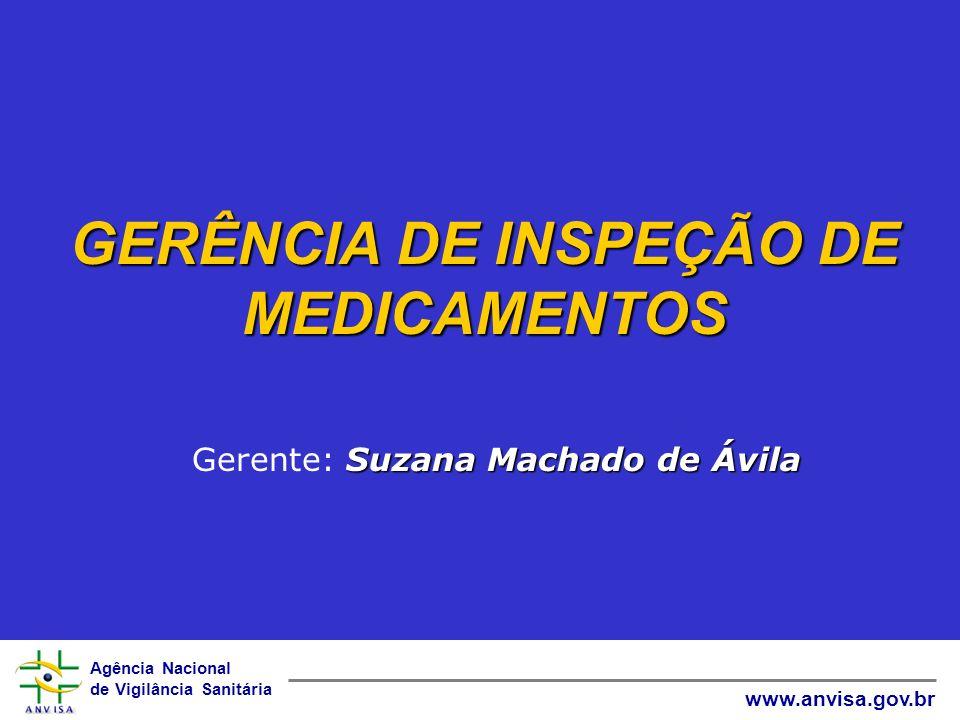 GERÊNCIA DE INSPEÇÃO DE MEDICAMENTOS