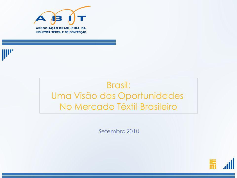 Uma Visão das Oportunidades No Mercado Têxtil Brasileiro
