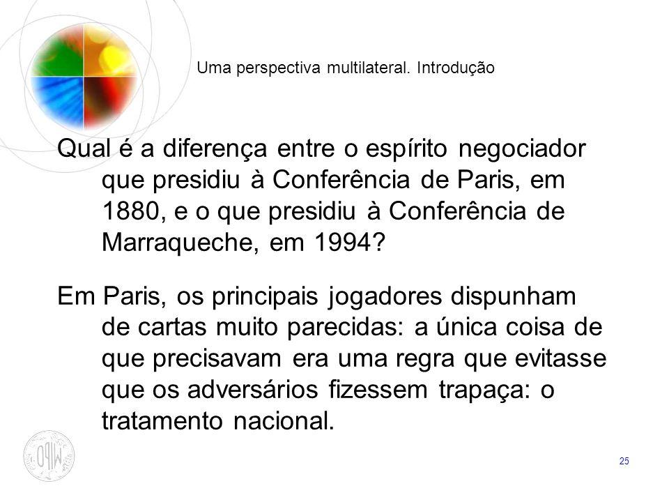 Uma perspectiva multilateral. Introdução