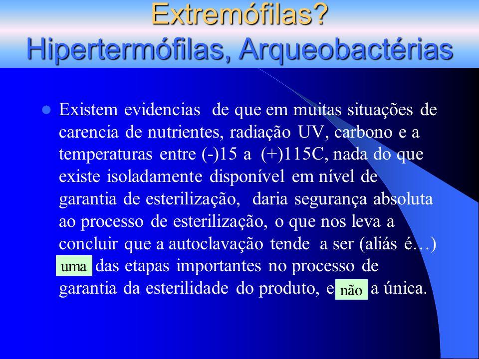 Extremófilas Hipertermófilas, Arqueobactérias