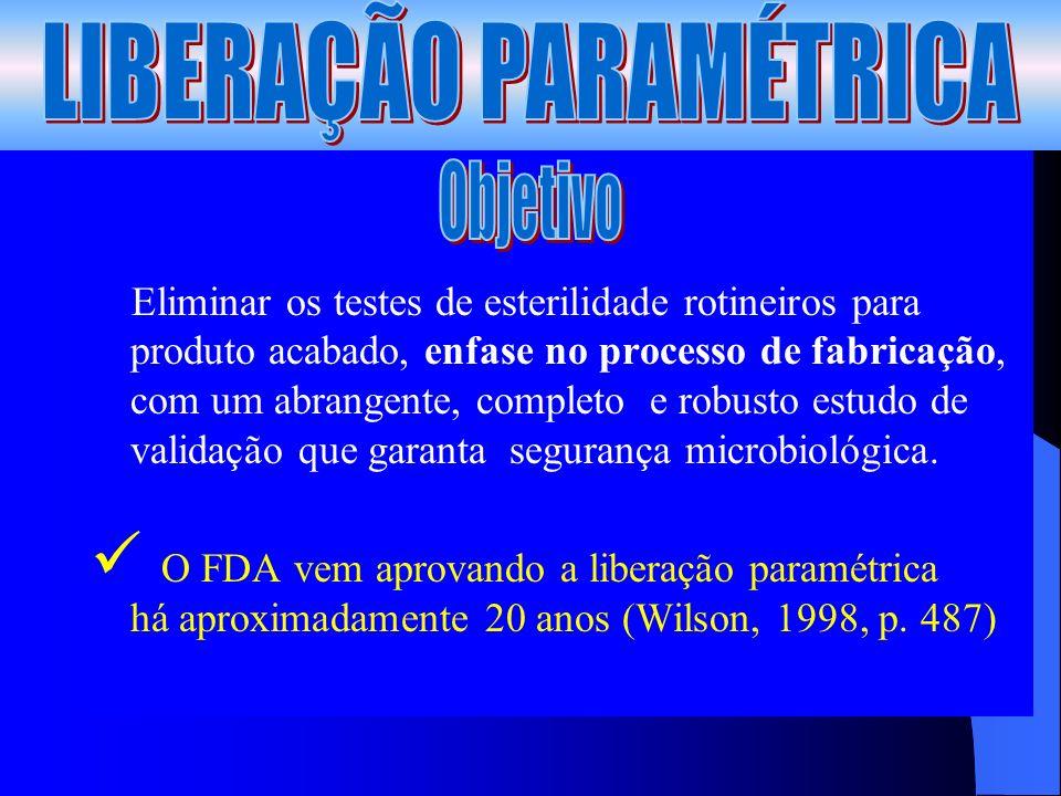 LIBERAÇÃO PARAMÉTRICA
